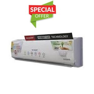 Sharp Inverter AY-X18HCP Heat & Cool AC 1.5Ton White