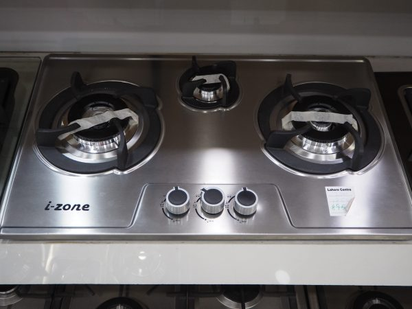 IZONE KITCHEN HOB TURKISH 2700 LPG (3BRN STEEL)