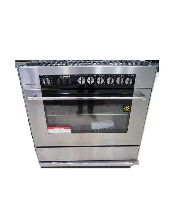 Izone Cooking Range IZ-5000 (5 Gas Burners Glass)