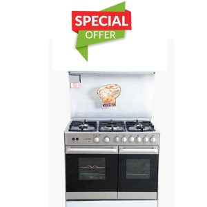 IZONE COOKING RANGE N605(5BRN GLASS)NTR