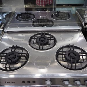 Izone Cooking Range IZ-08 (3 Gas Burners Glass)