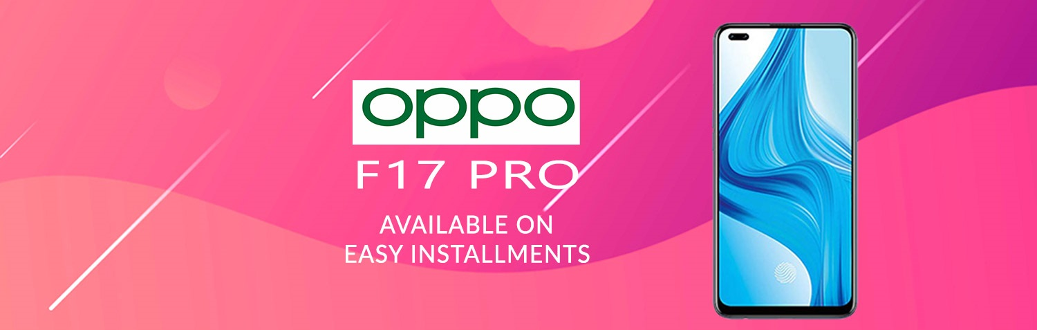 Oppo F17 buy on easy installment in lahore