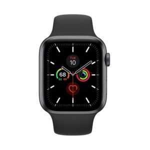 Apple Watch Series 5 44mm Space Gray Aluminum Case with Sport Band