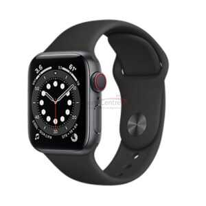 Apple Watch Series 6 44mm Space Gray Aluminum Case with Sport Band