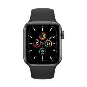 Apple Watch SE 44mm Space Gray Aluminum Case with Sport Band